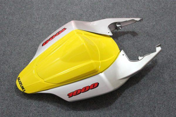 Пластик на мотоцикл Suzuki GSX-R1000 07-08 Желто-Серый-7