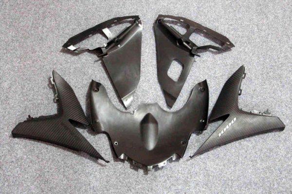 Пластик на мотоцикл Suzuki GSX-R1000 09-15 Черно-Бордовый-12