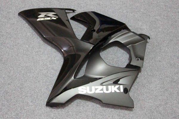 Пластик на мотоцикл Suzuki GSX-R1000 09-15 Черно-Бордовый-7