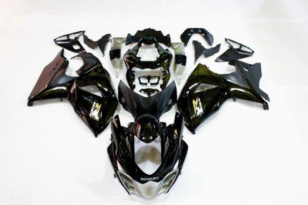 Пластик на мотоцикл Suzuki GSX-R1000 09-15 Color+ Черный