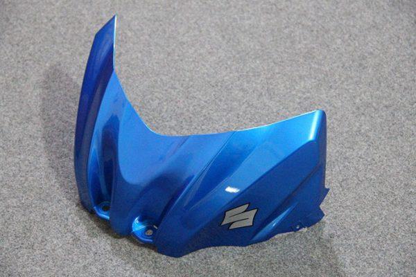 Пластик на мотоцикл Suzuki GSX-R1000 09-15 Сине-Белый-3