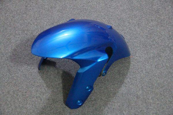 Пластик на мотоцикл Suzuki GSX-R1000 09-15 Сине-Белый-4