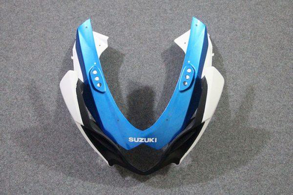 Пластик на мотоцикл Suzuki GSX-R1000 09-15 Сине-Белый-7