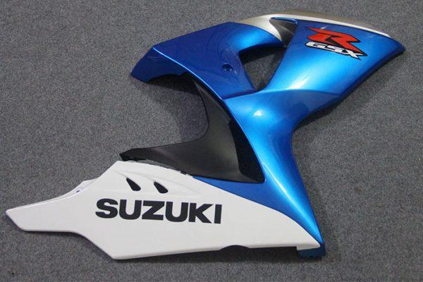Пластик на мотоцикл Suzuki GSX-R1000 09-15 Сине-Белый-8