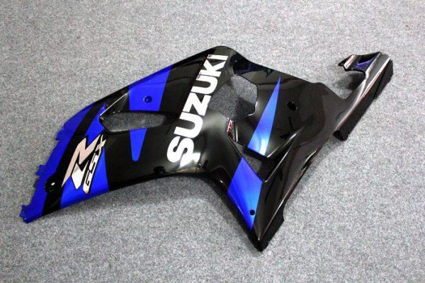 Пластик на мотоцикл Suzuki GSX-R 650/750 01-03 Сине-Черный-1