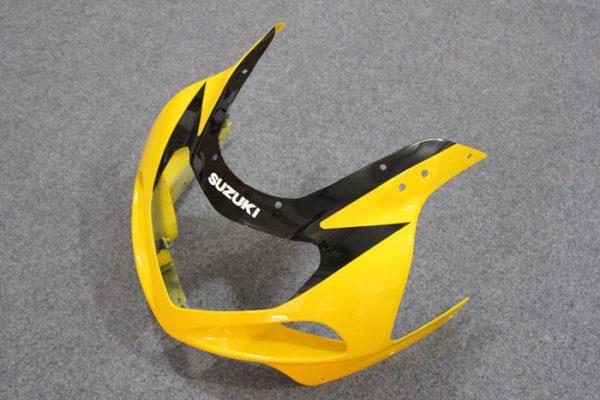 Пластик на мотоцикл Suzuki GSX-R 650/750 01-03 Желто-Черный-4