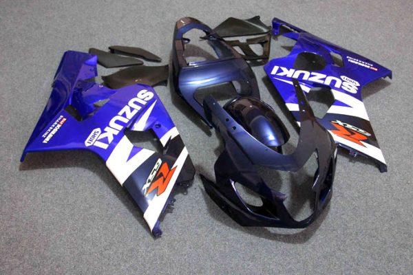 Пластик на мотоцикл Suzuki GSX-R 650 / 750 04-05 Сине-Белый