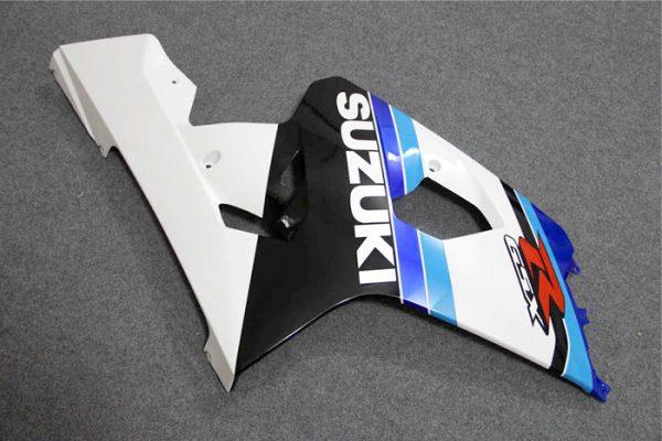 Пластик на мотоцикл Suzuki GSX-R 650 / 750 04-05 Сине-Бело-Черный-1