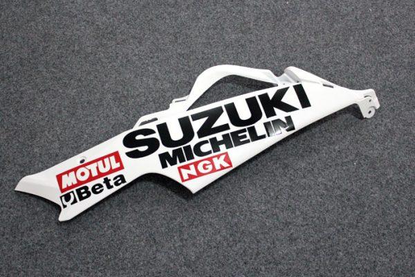 Пластик на мотоцикл Suzuki GSX-R 650/750 2006-2007 Lucky Strike Бело-Красный-1