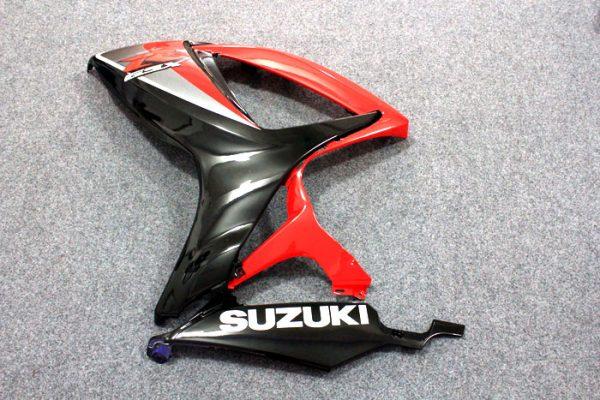 Пластик на мотоцикл Suzuki GSX-R 650/750 2006-2007 Красно-Черный-6