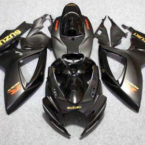 Пластик на мотоцикл Suzuki GSX-R 650/750 2006-2007 Черный