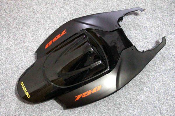 Пластик на мотоцикл Suzuki GSX-R 650/750 2006-2007 Черный-5