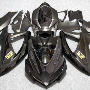 Пластик на мотоцикл Suzuki GSX-R 650/750 2008-2010 Черный