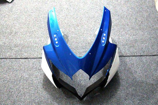 Пластик на мотоцикл Suzuki GSX-R 650/750 08-10 Color+ Сине-Белый-1