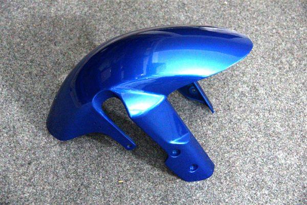 Пластик на мотоцикл Suzuki GSX-R 650/750 08-10 Color+ Сине-Белый-3