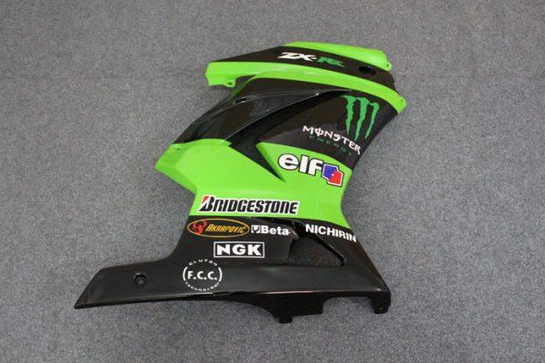 Пластик на мотоцикл Kawasaki Ninja 250R Monster Energy-1