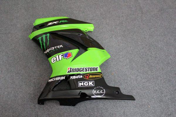 Пластик на мотоцикл Kawasaki Ninja 250R Monster Energy-2
