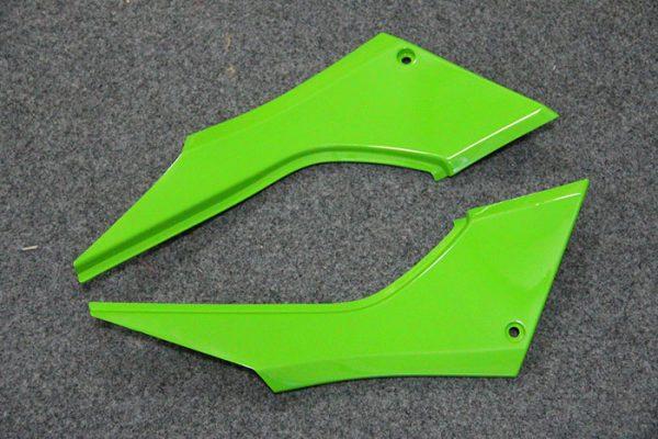 Пластик на мотоцикл Kawasaki Ninja 300R Color+ Зеленый-2