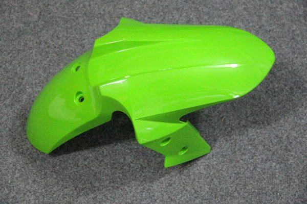 Пластик на мотоцикл Kawasaki Ninja 300R Color+ Зеленый-3