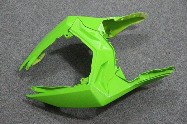 Пластик на мотоцикл Kawasaki Ninja 300R Color+ Зеленый-4