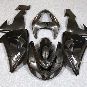 Пластик на мотоцикл Kawasaki ZX-10R 2006-2007 Черный