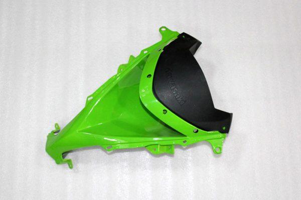 Пластик на мотоцикл Kawasaki ZX-10R 2008-2010 Color+ Зелено-Черный-4