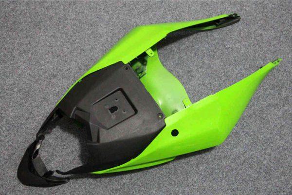 Пластик на мотоцикл Kawasaki ZX-6R 09-12 Зелено-Черный-3