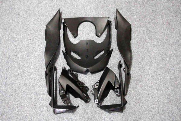 Пластик на мотоцикл Kawasaki ZX-6R 09-12 Зелено-Черный-5