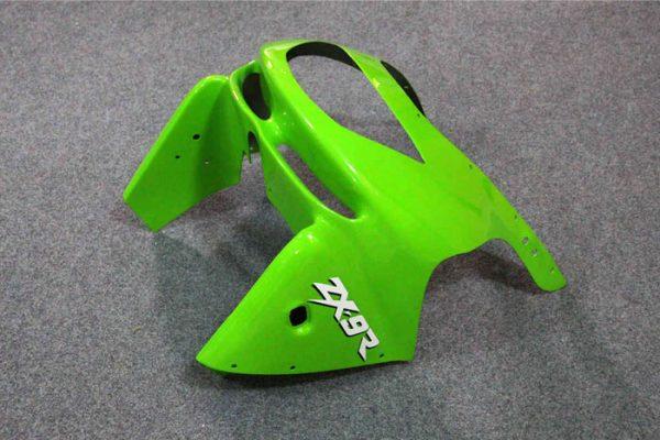 Пластик на мотоцикл Kawasaki ZX-9R 1998-1999 Зелено-Фиолетовый-3