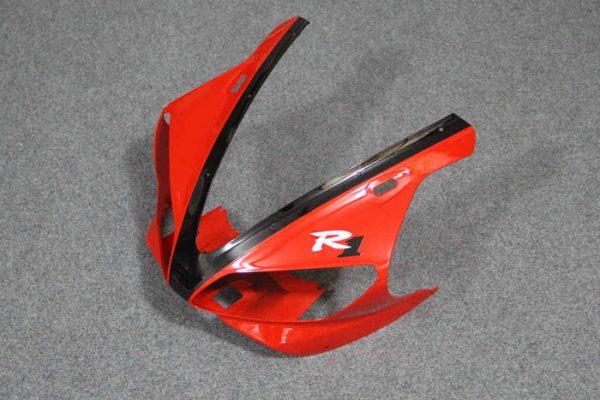 Пластик на мотоцикл Yamaha YZF-R1 00-01 Красно-Черный-2