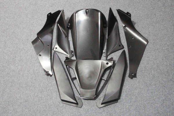 Пластик на мотоцикл Yamaha YZF-R1 02-03 Красно-Черно-Белый-9