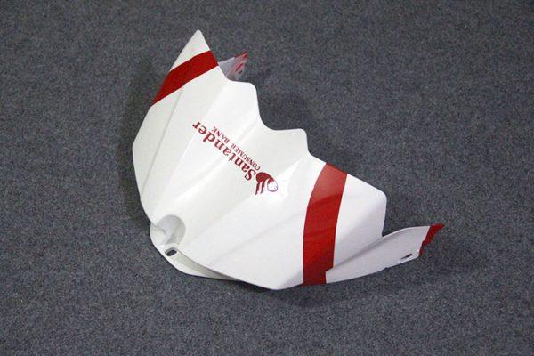 Пластик на мотоцикл Yamaha YZF-R1 07-08 Красно-Черный Santander-3