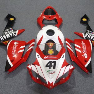 Пластик на мотоцикл Yamaha YZF-R1 07-08 Красно-Черный Santander
