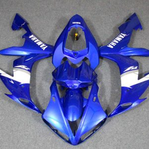 Пластик на мотоцикл Yamaha YZF-R1 2004-2006 Сине-Белый