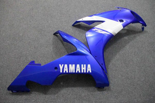 Пластик на мотоцикл Yamaha YZF-R1 2004-2006 Сине-Белый-5