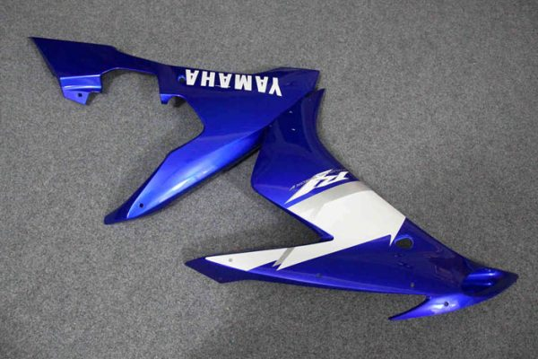 Пластик на мотоцикл Yamaha YZF-R1 2004-2006 Сине-Белый-6