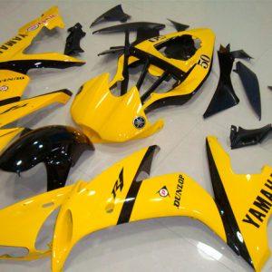 Пластик на мотоцикл Yamaha YZF-R1 2004-2006 Желто-Черный