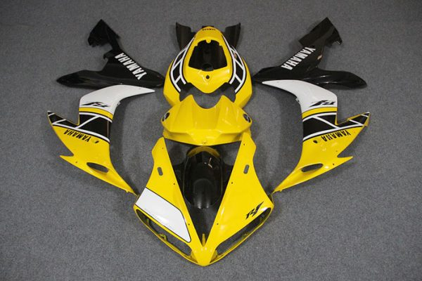Пластик на мотоцикл Yamaha YZF-R1 2004-2006 Желтый Limited 50th