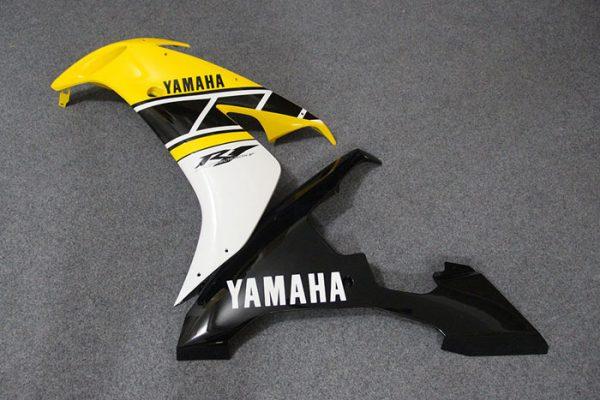 Пластик на мотоцикл Yamaha YZF-R1 2004-2006 Желтый Limited 50th-7