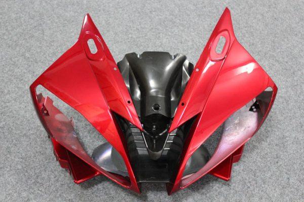 Пластик на мотоцикл Yamaha YZF-R6 2006-2007 Красно-Черный-7