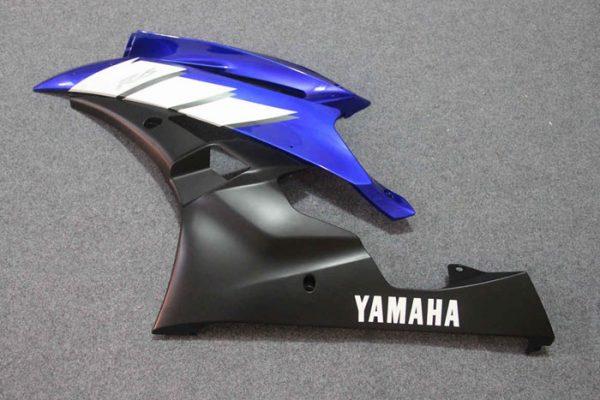 Пластик на мотоцикл Yamaha YZF-R6 2006-2007 Сине-Белый-2-1