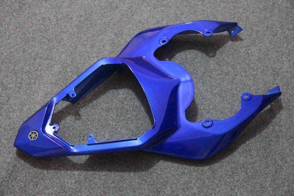 Пластик на мотоцикл Yamaha YZF-R6 2006-2007 Сине-Белый-2-2