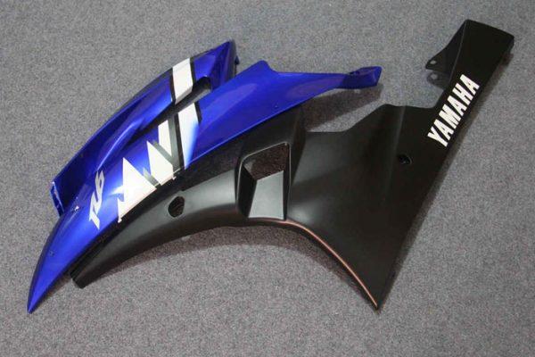 Пластик на мотоцикл Yamaha YZF-R6 2006-2007 Сине-Белый Color+-1