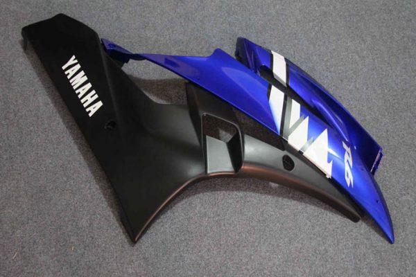 Пластик на мотоцикл Yamaha YZF-R6 2006-2007 Сине-Белый Color+-2