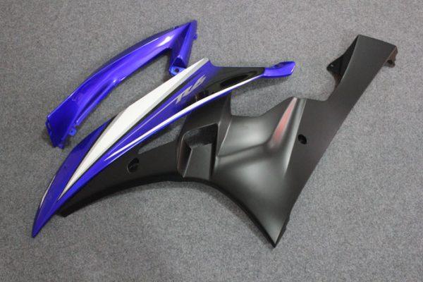 Пластик на мотоцикл Yamaha YZF-R6 2006-2007 Сине-Черный-1