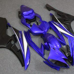 Пластик на мотоцикл Yamaha YZF-R6 2006-2007 Сине-Черный