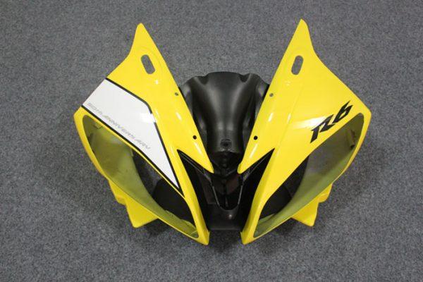 Пластик на мотоцикл Yamaha YZF-R6 2006-2007 Желтый Limited 50th-6