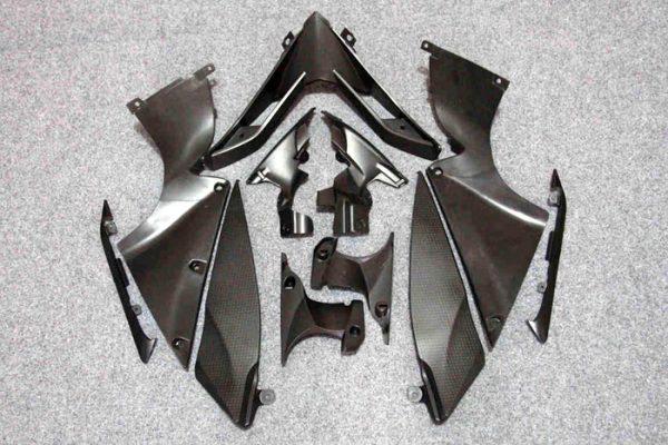 Пластик на мотоцикл Yamaha YZF-R1 07-08 Сине-Бело-Черный-3