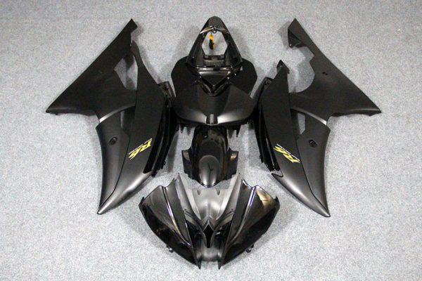 Пластик на мотоцикл Yamaha YZF-R6 2008-2015 Черный