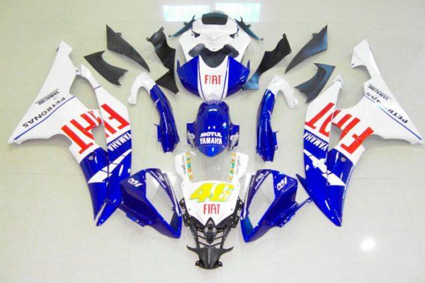 Пластик на мотоцикл Yamaha YZF-R6 2008-2015 Fiat